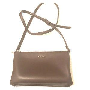 Matt and Nat Triplet purse - Cocoa color